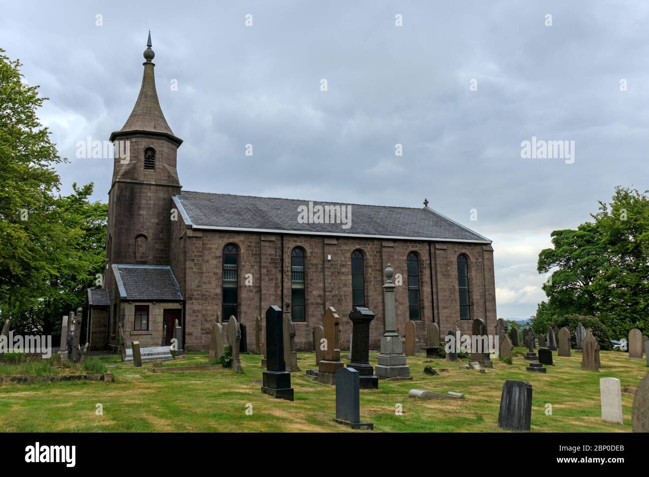 St. Paul's Church, Withnell Stock Photo