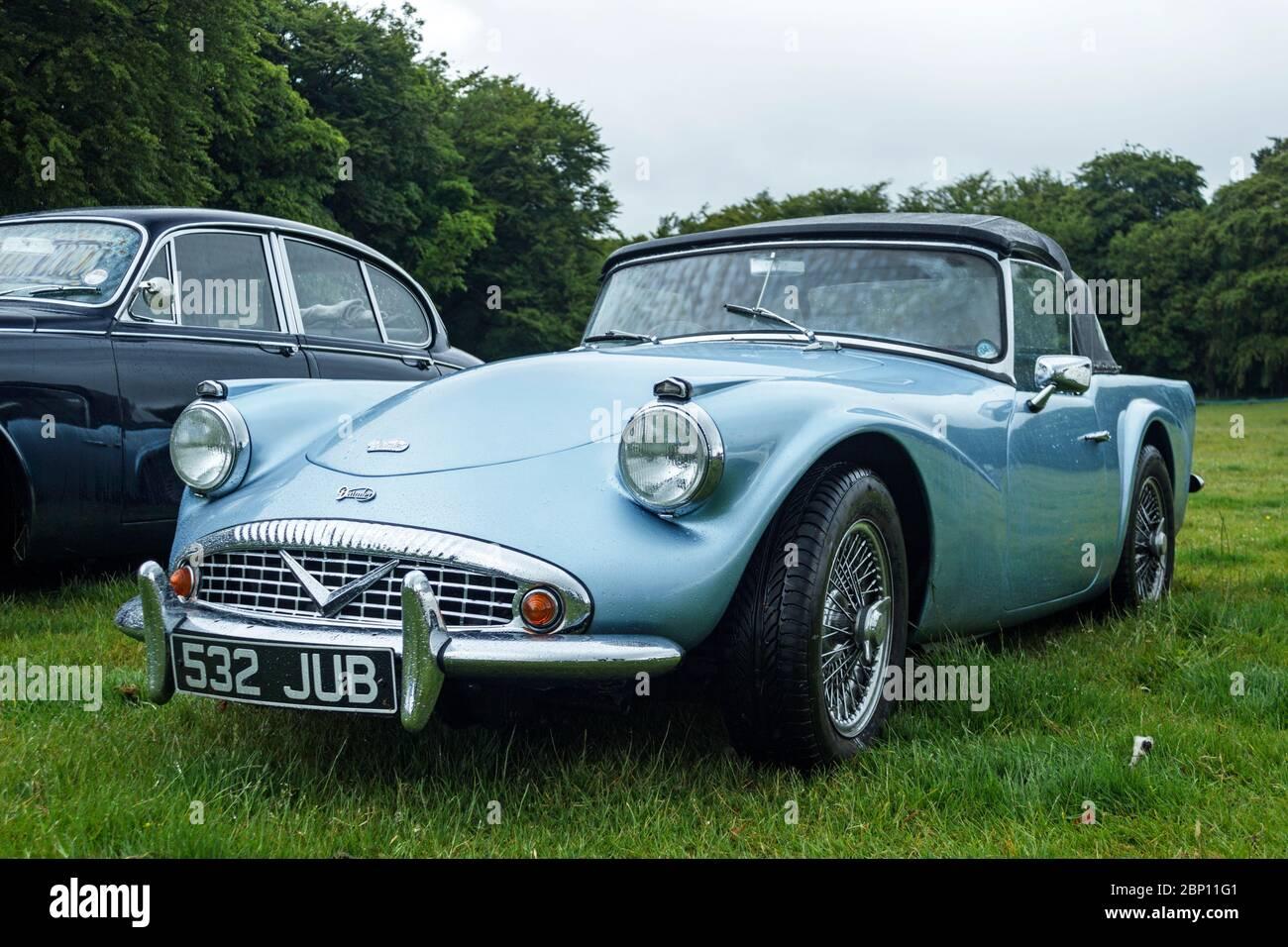Daimler Dart Stock Photo