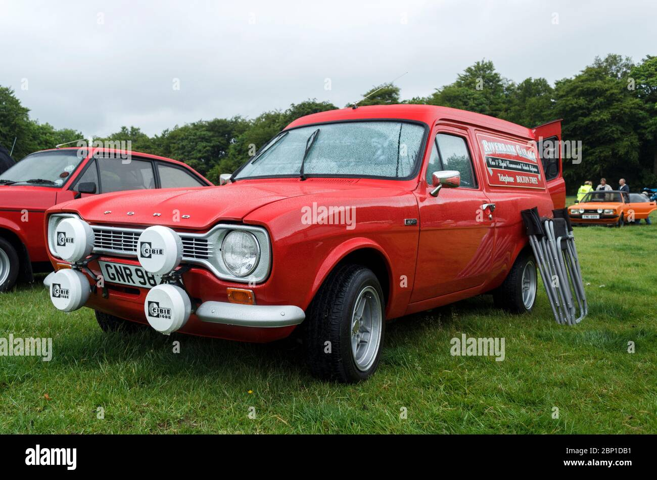 Ford Escort Mark 1 van Stock Photo