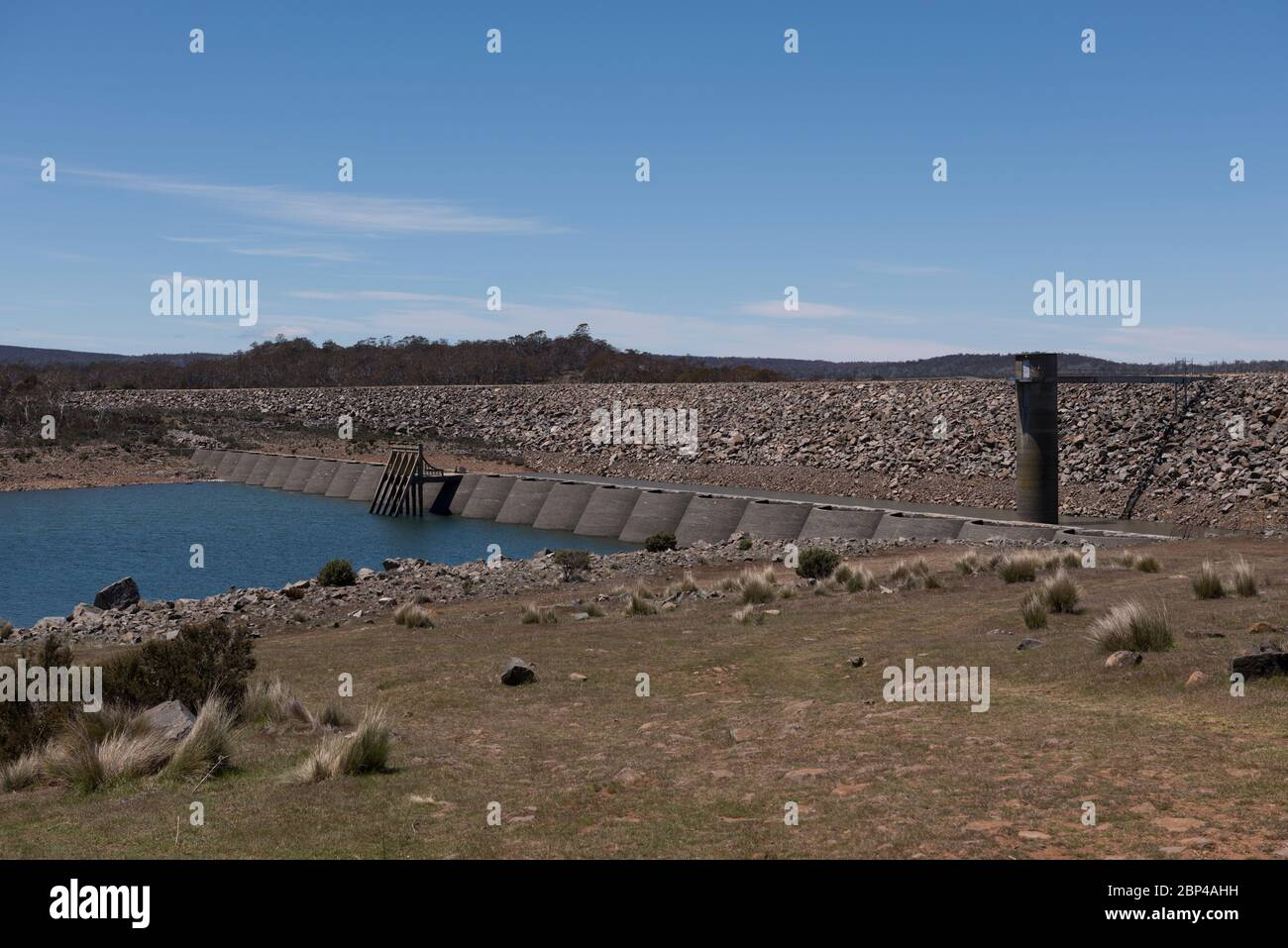 The Great Lake Is A Man Made Reservoir Created By The Miena Dam In The Central Northern Region Of Tasmania Australia Stock Photo Alamy