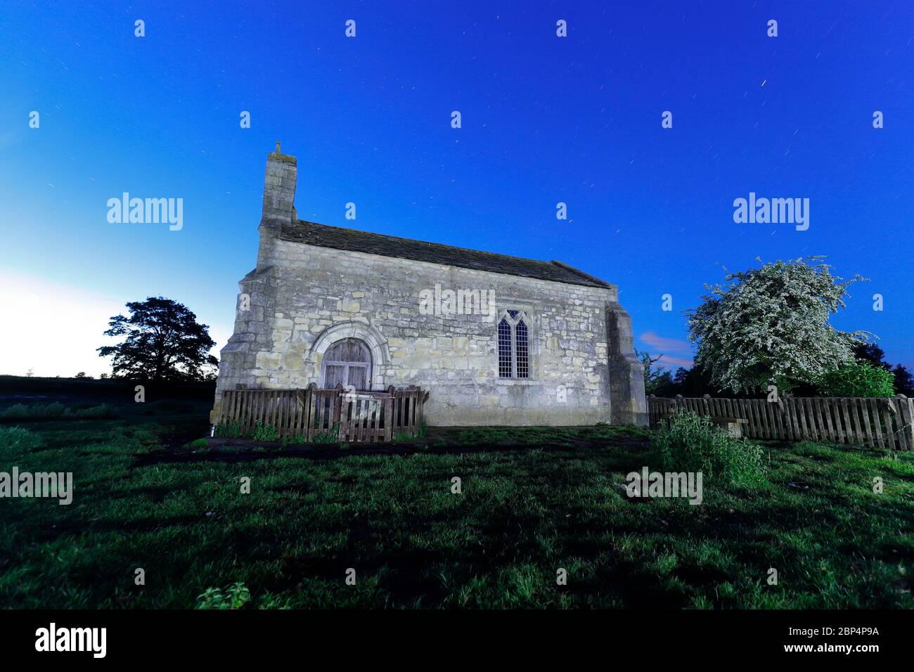 St Mary's Chapel - Lead - Tadcaster,UK Stock Photo
