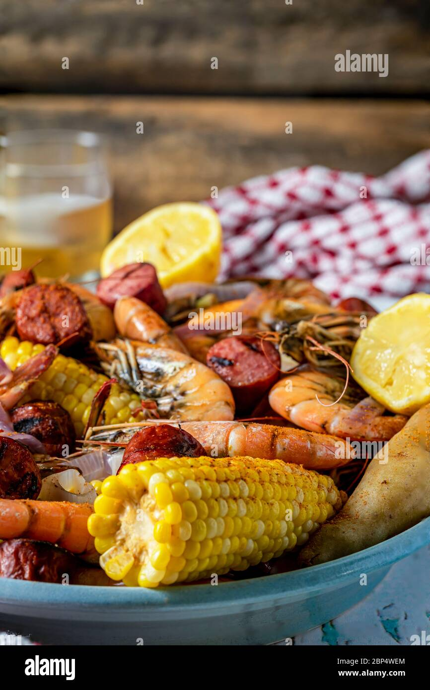 Low Country Boil High Resolution Stock Photography And Images Alamy