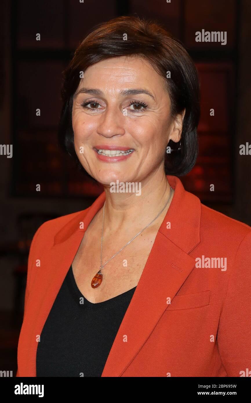 Sandra Maischberger,Koelner Treff (eps. 531),WDR Studio BS2,Koeln,24.01.2020 Stock Photo
