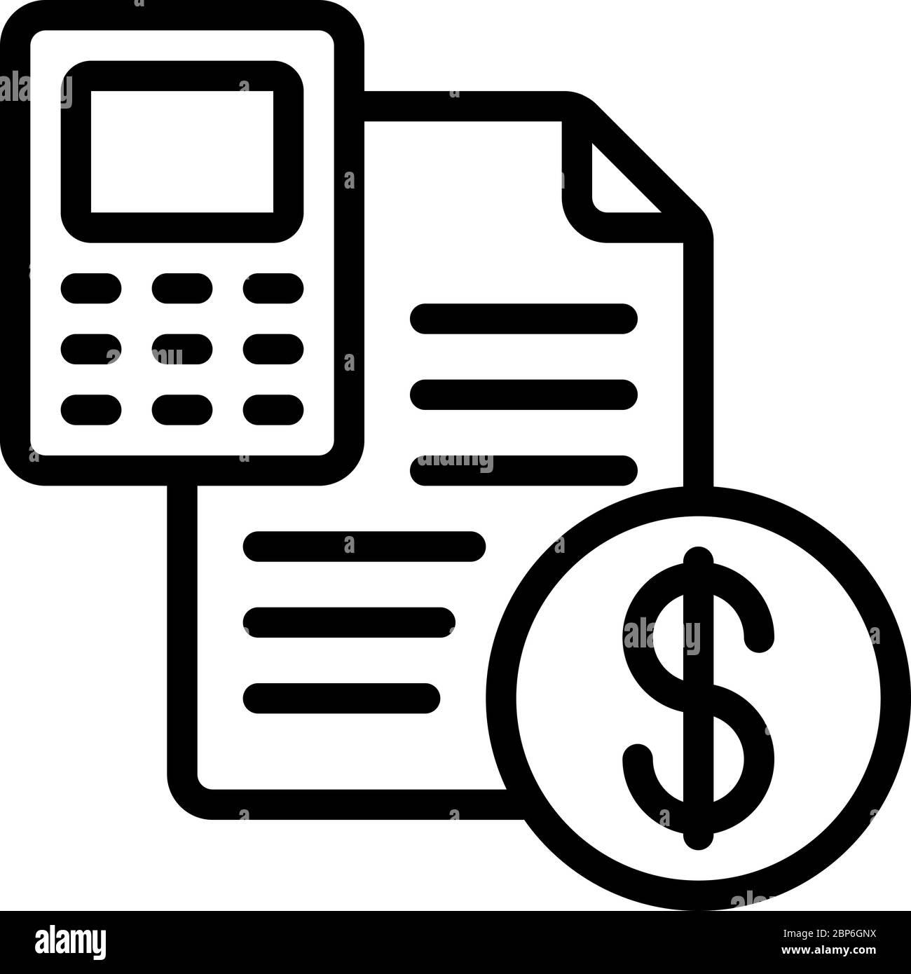 Finance Accounting Icon Stock Vector Image Art Alamy