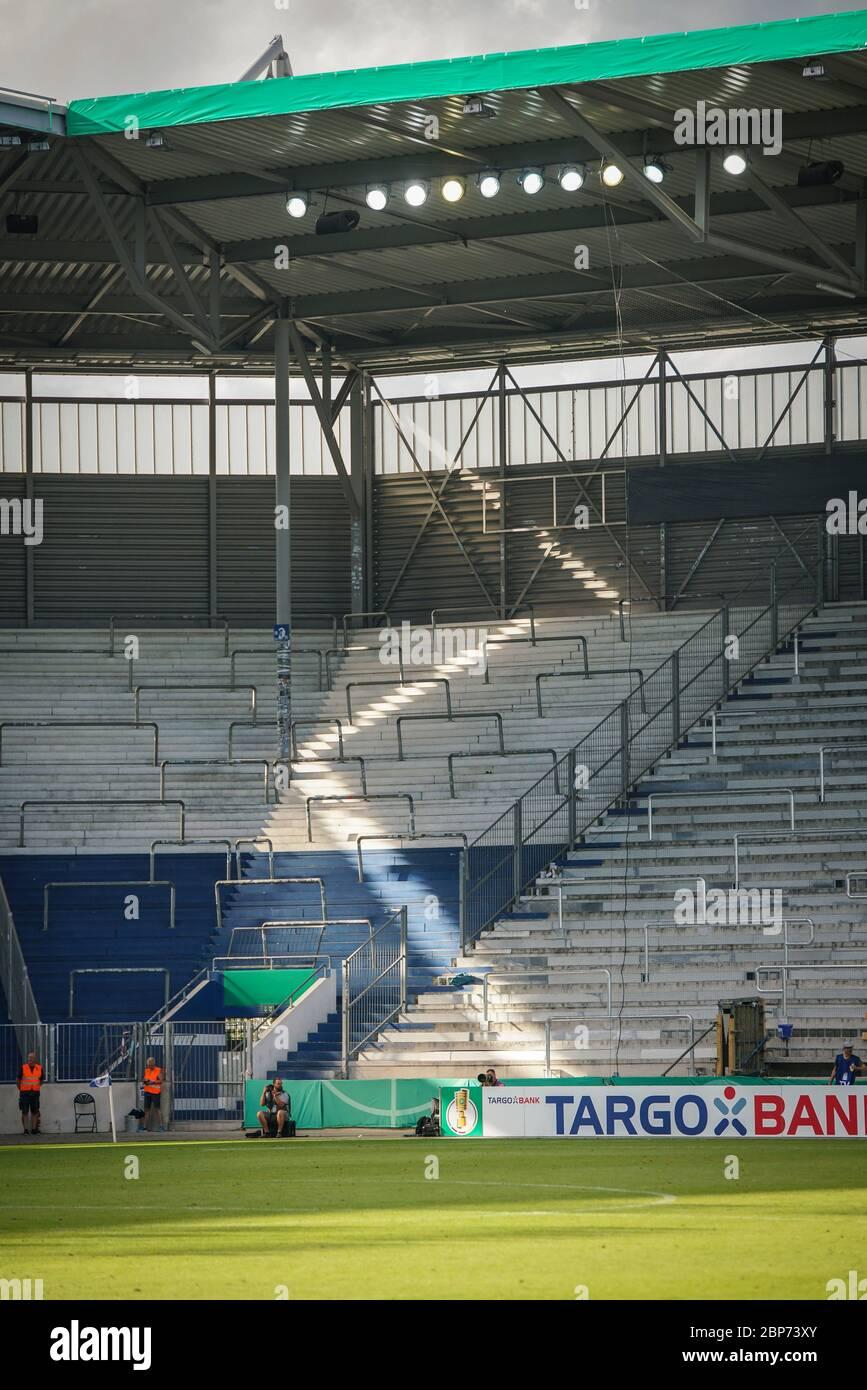 DFB-Pokal 19/20 1 HR: FC Magdeburg vs SC Freiburg Stock Photo