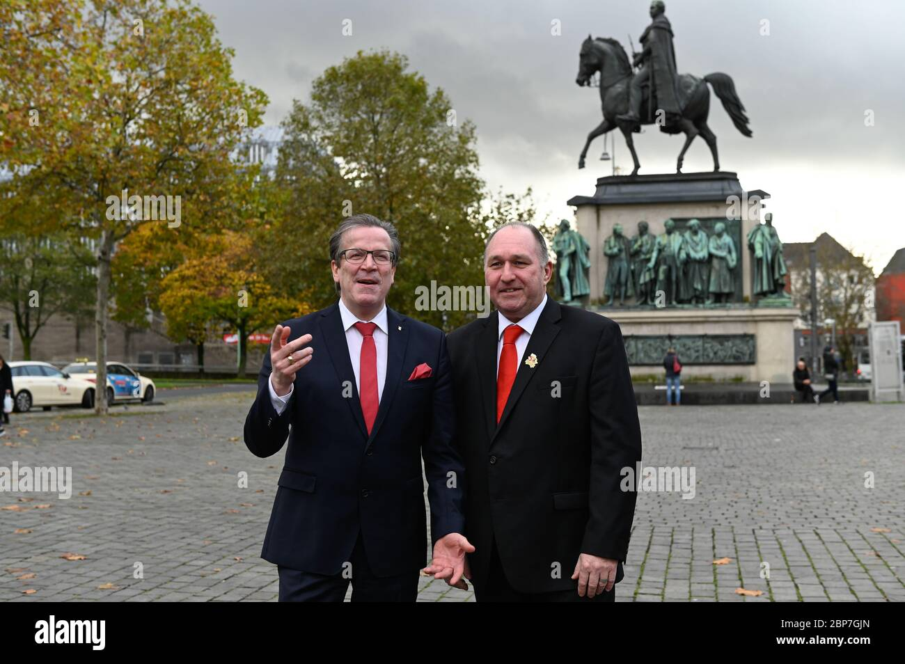 Pressekonferenz der 'Willi Ostermann Stiftung' zur Sessionseroeffnung des Koelner Karneval Stock Photo