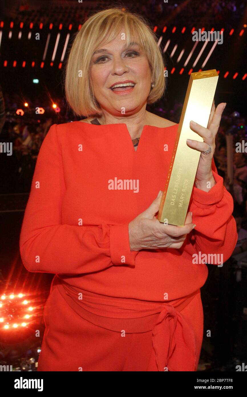 Mary Roos,Schlager Champions,Velodrom Berlin,11.01.2020 Stock Photo