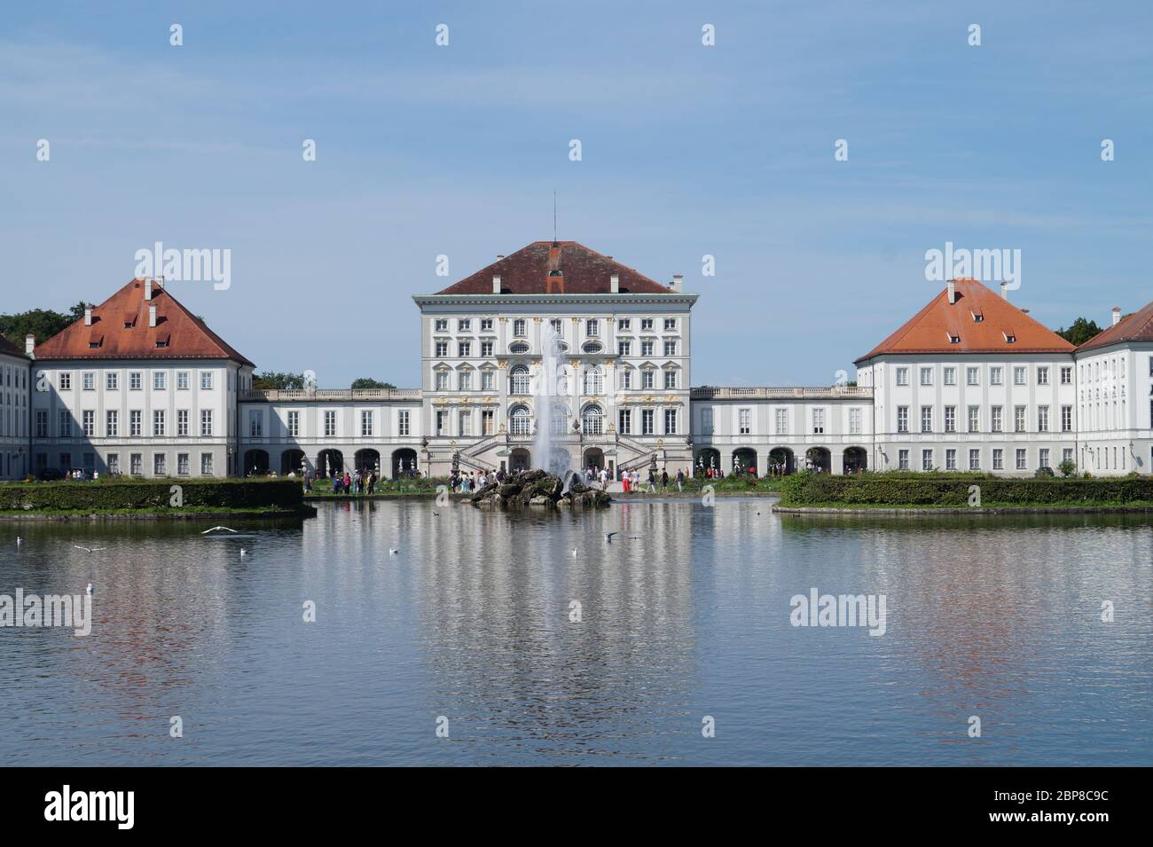 Schloss Nymphenburg Stock Photo