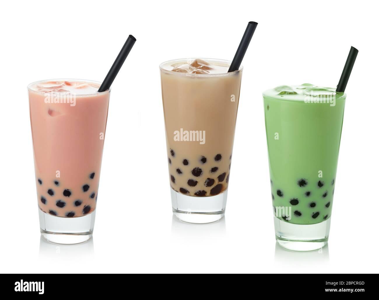 génial  Mot-Clé Bubble Milk Green Tea With Tapioca High Resolution Stock ...