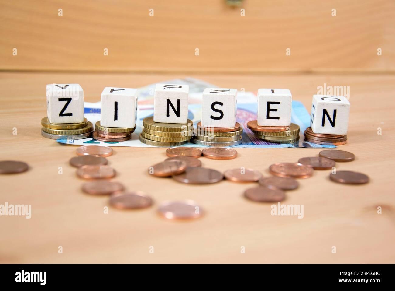 Symbolfoto für Zinsen Stock Photo