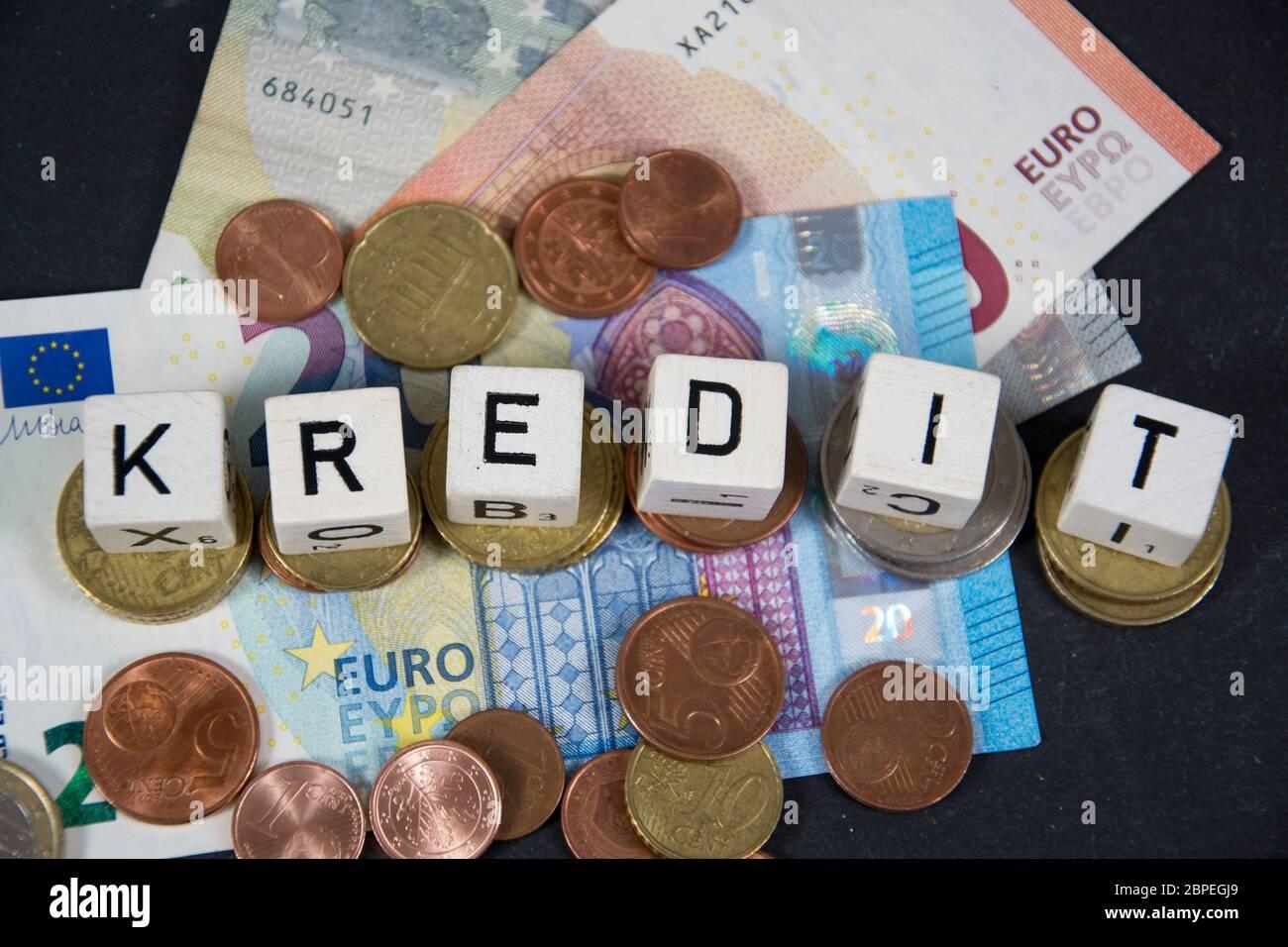 Symbolfoto für Kredit Stock Photo