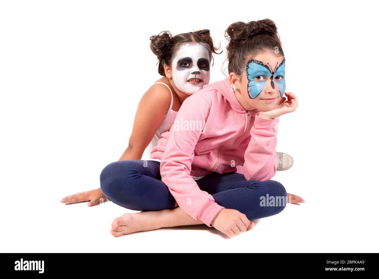 Panda Face Paint High Resolution Stock Photography And Images Alamy