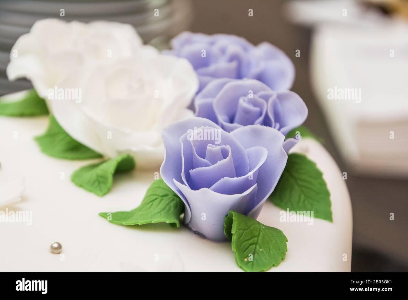 Hochzeitsstrauss / Rosen Stock Photo