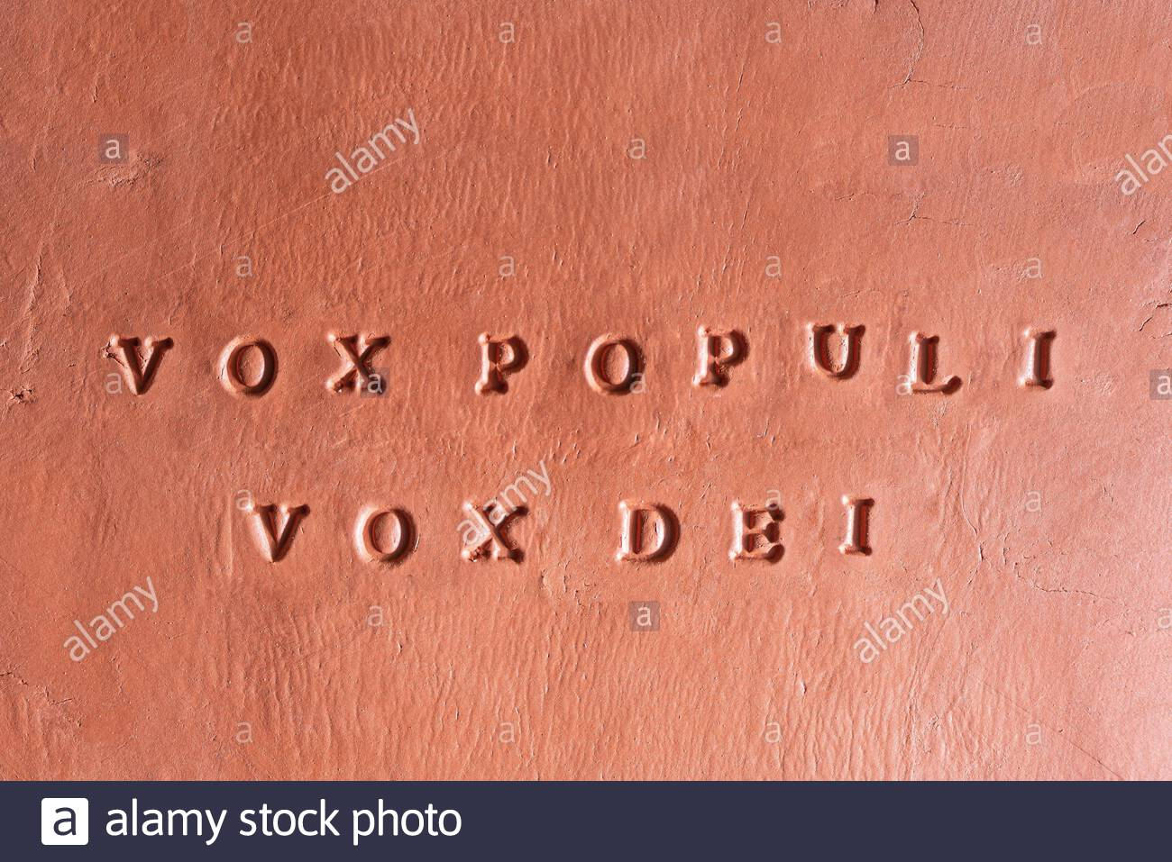 Vox Populi High Resolution Stock Photography And Images Alamy