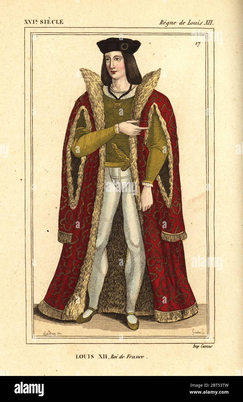 Louis Xii King Of France 1462 1515 High Resolution Stock ...