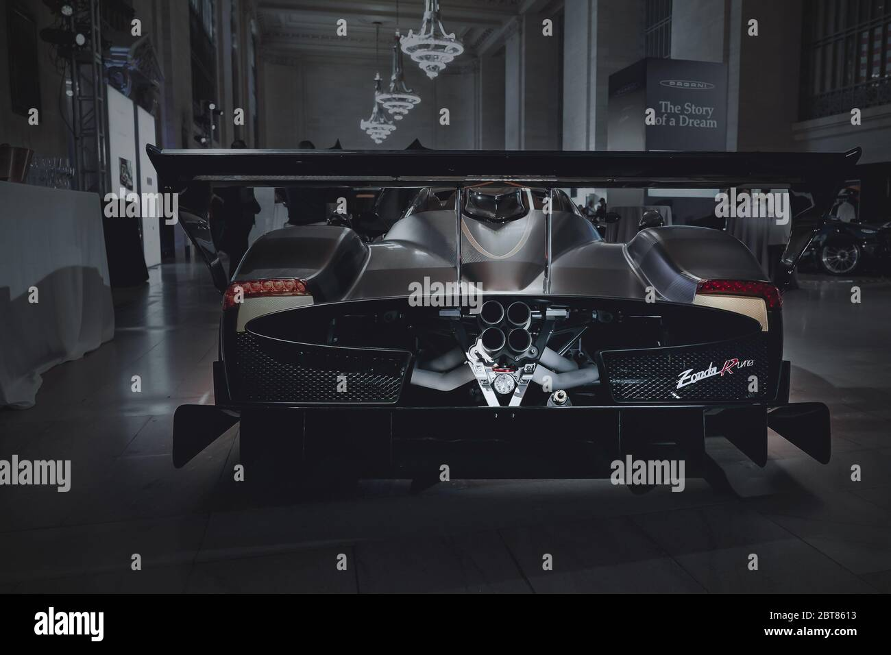 pagani high resolution stock photography and images alamy https www alamy com 11419 new yorkny pagani takes over grand central terminal with five zondas and a huayra pagani the story of a dream highlights the history image359139455 html