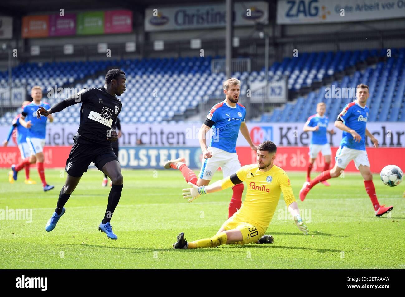 Kiel Germany 24th May 2020 Football 2nd Bundesliga Holstein Kiel Vfb Stuttgart 27th Matchday At The