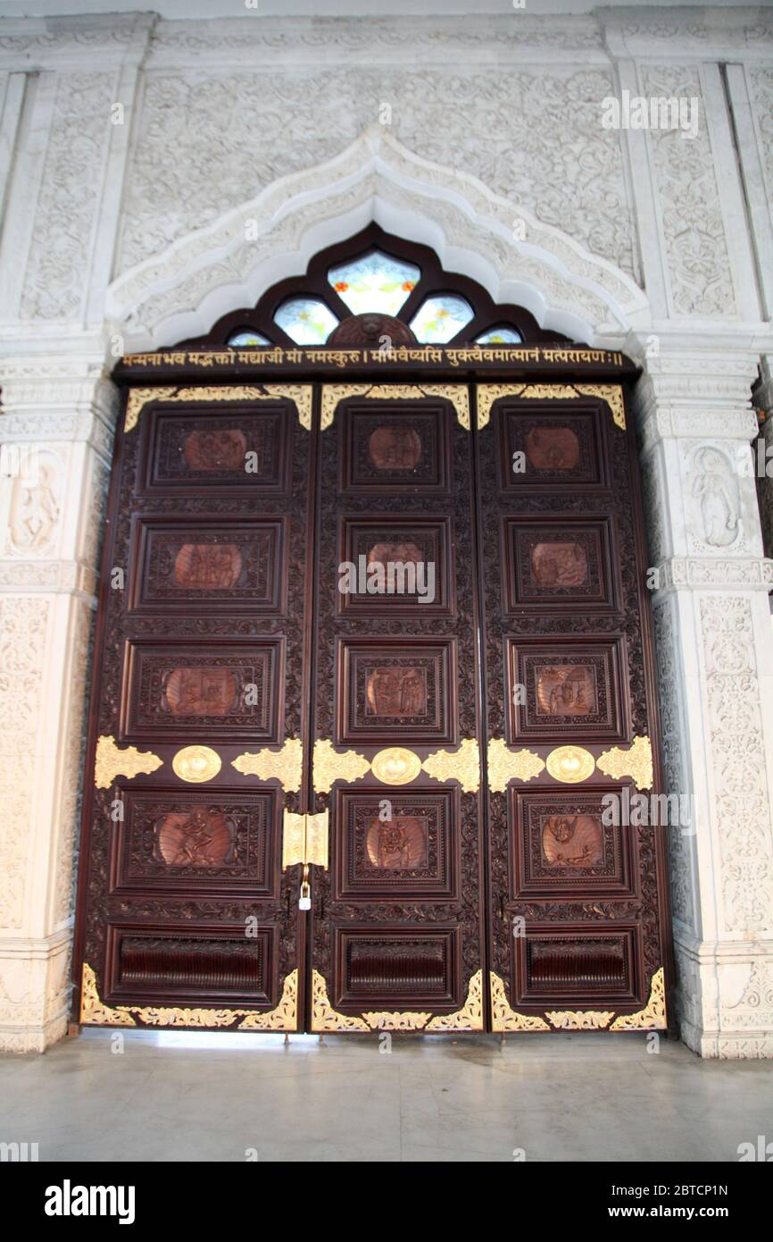 Temple Door Panel High Resolution Stock Photography And Images Alamy