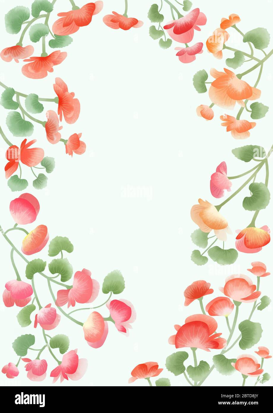 Spring Flower Background Clip Art Free Download