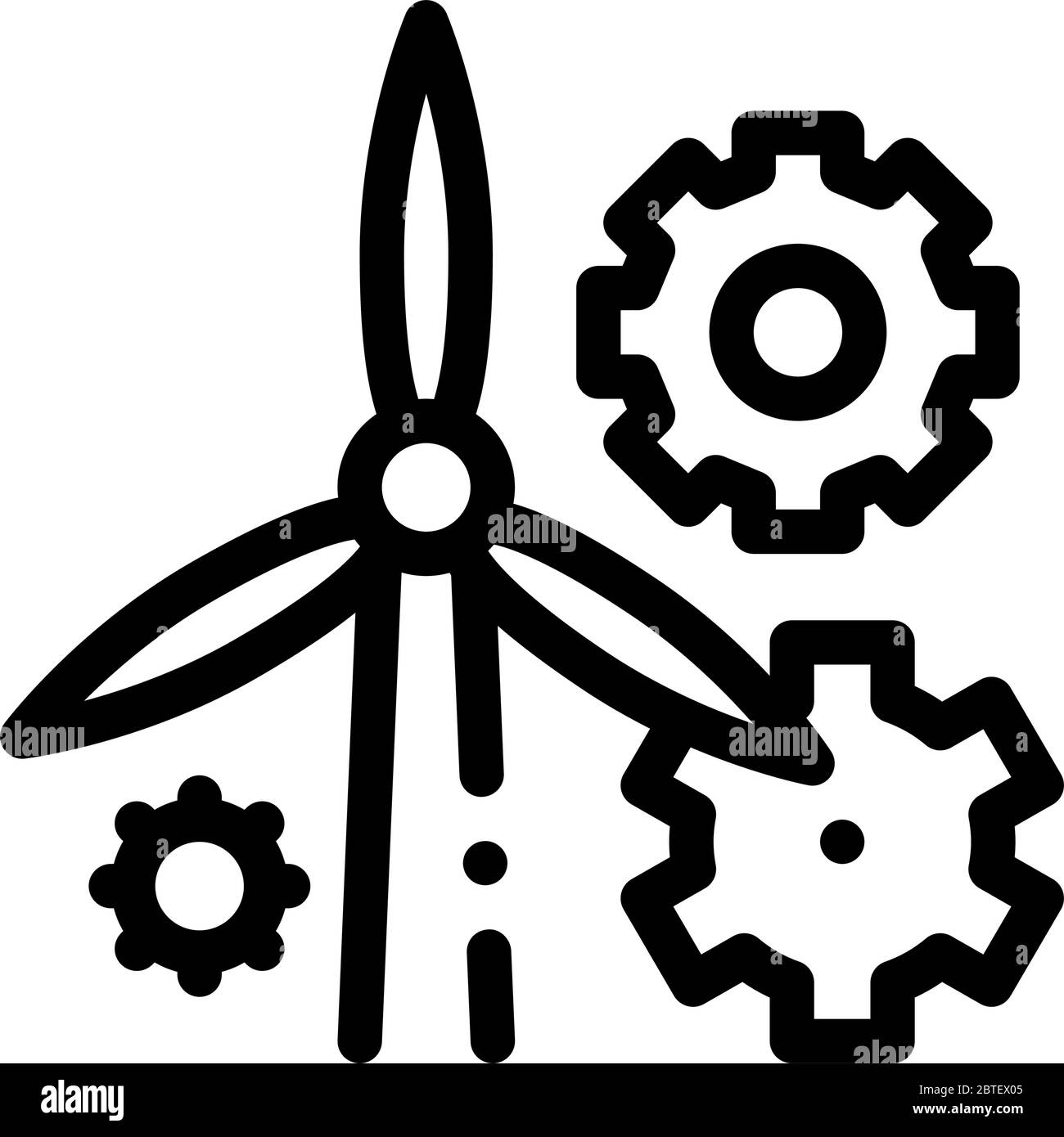 Outline Of Windmill Black And White Stock Photos Images Alamy