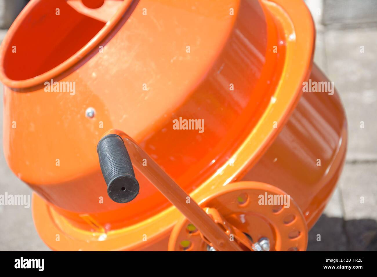 Portable Cement Mixer High Resolution Stock Photography And Images Alamy
