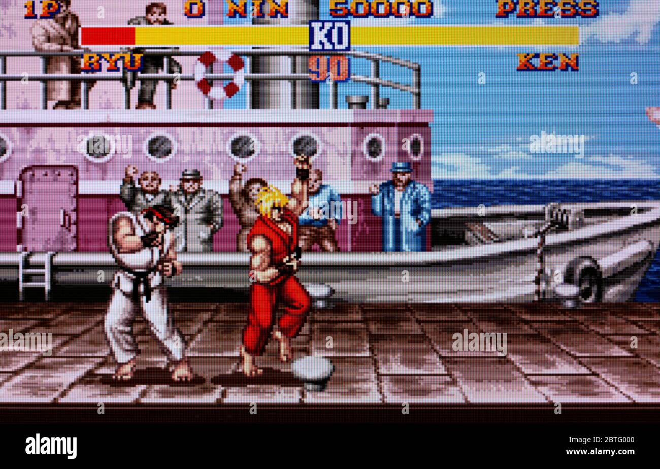 Street Fighter Ii 2 The World Warrior Snes Super Nintendo Editorial Use Only Stock Photo 359310336 Alamy