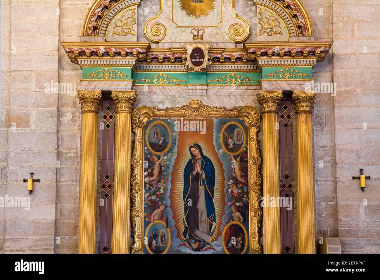 Cathedral on Plaza de Armas, Colonial City of La Serena, Norte Chico Region, Chile, South America Stock Photo
