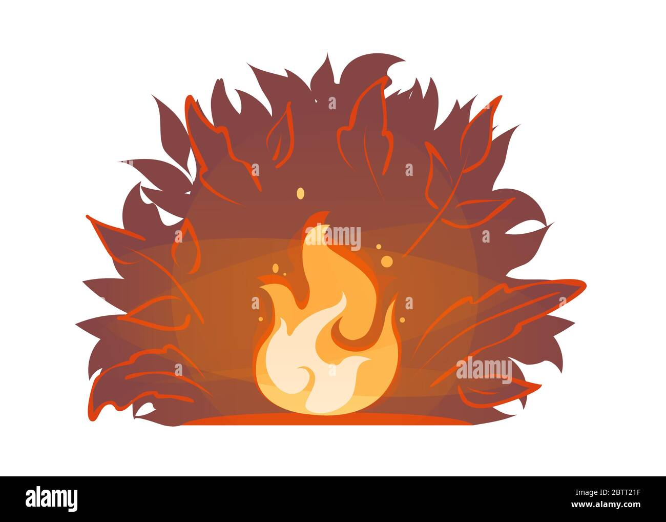 Wildfire Graphic Black White Forest Fire Landscape Sketch Illustration..  Royalty Free Cliparts, Vectors, And Stock Illustration. Image 110108422.