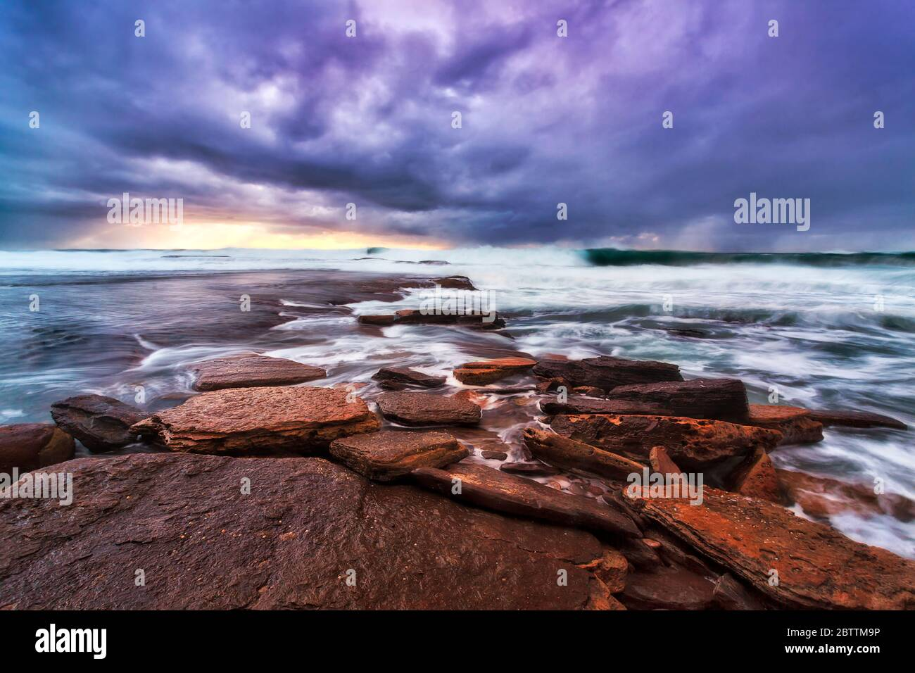 Flat Rocks High Resolution Stock Photography And Images Alamy Rocks stones horizon coast sand sea