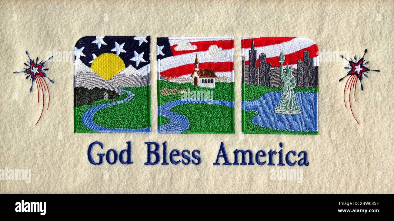 God Bless America High Resolution Stock Photography And Images Alamy