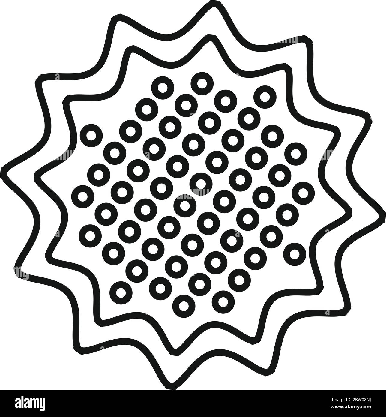 star biscuit icon outline star biscuit vector icon for web design isolated on white background stock vector image art alamy alamy