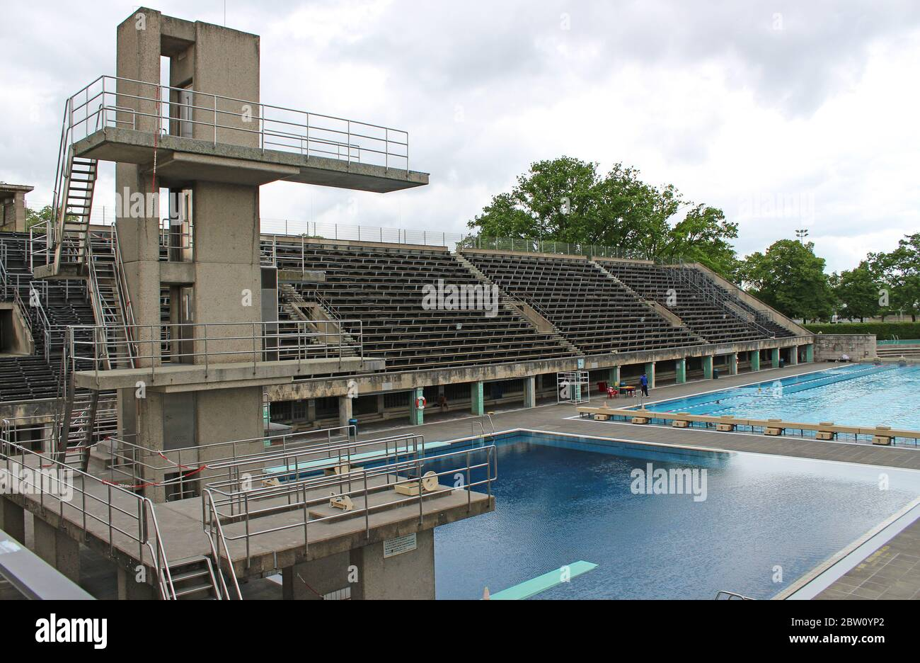 Olympic Swimming Pool Stadium High Resolution Stock Photography And Images Alamy