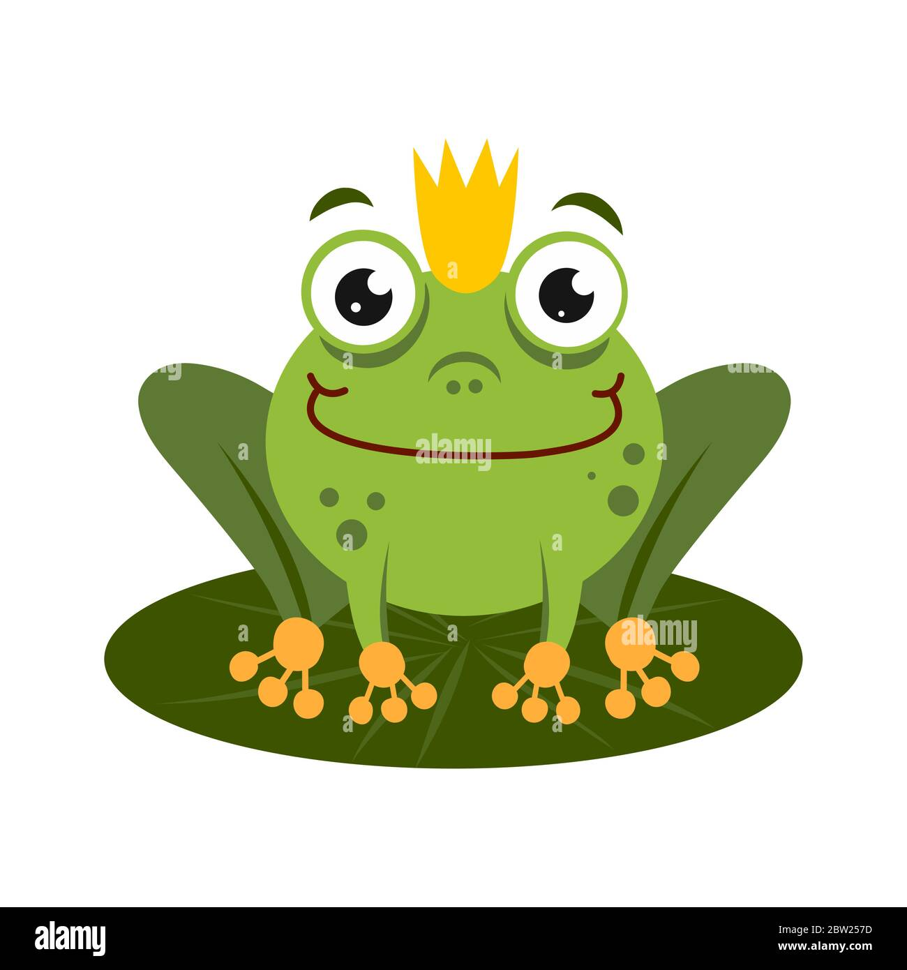 Green King Frog Sitting On Lotus Leaf Cartoon Character Isolated On White Background Frog Prince With Crown Stock Vector Image Art Alamy It can be obtained in the ancient jungle. https www alamy com green king frog sitting on lotus leaf cartoon character isolated on white background frog prince with crown image359621793 html