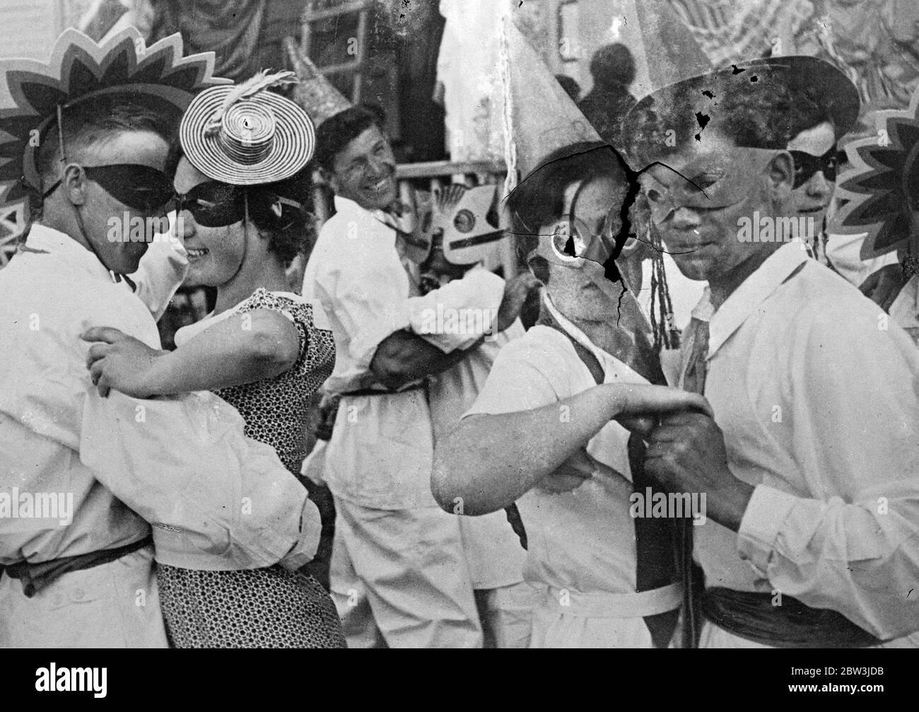 Moscow has its first carnival since the revolution in the brighter Russia campaign 26 July 1935 Stock Photo