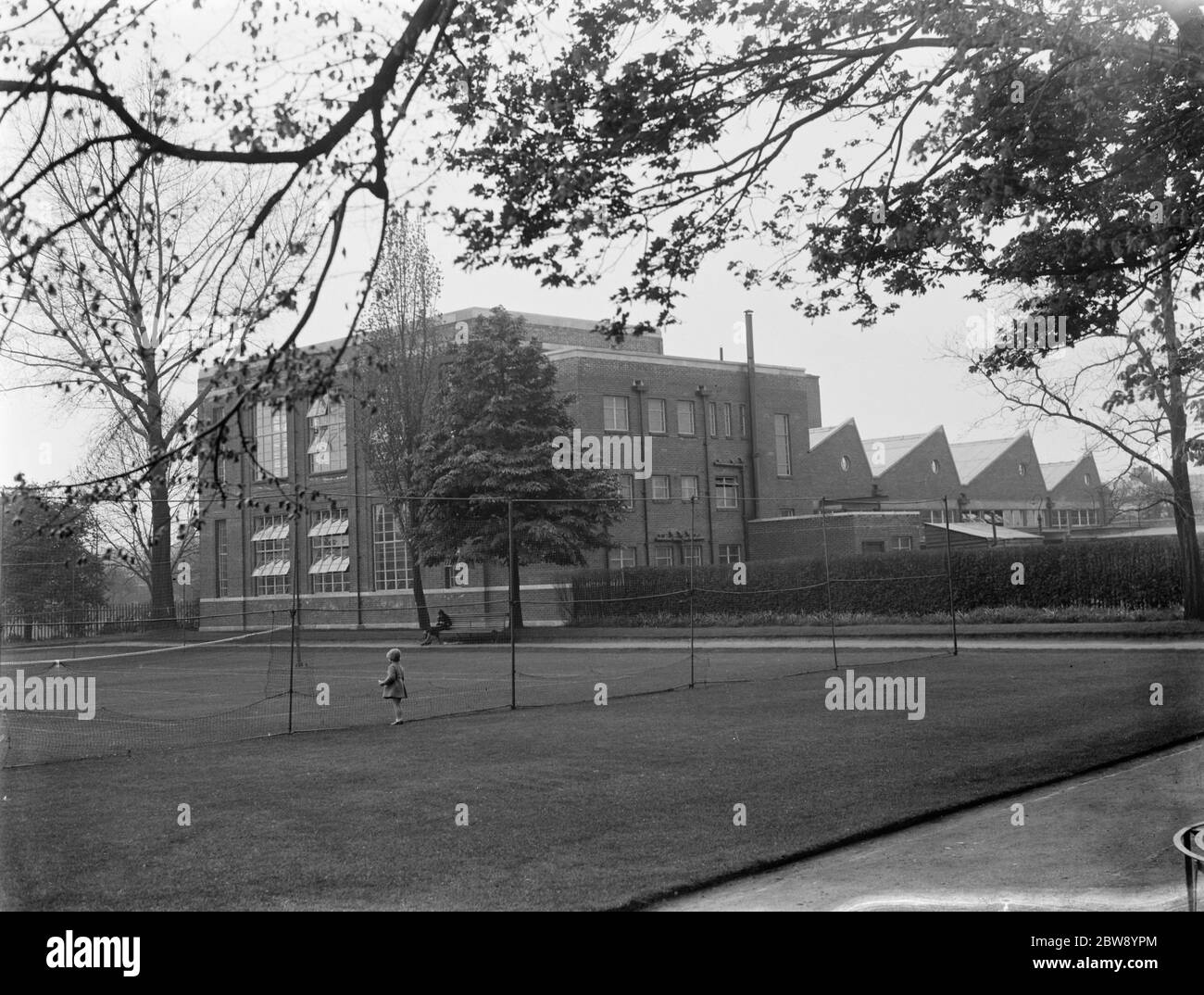 New Technical College at Dartford . 1937 Stock Photo
