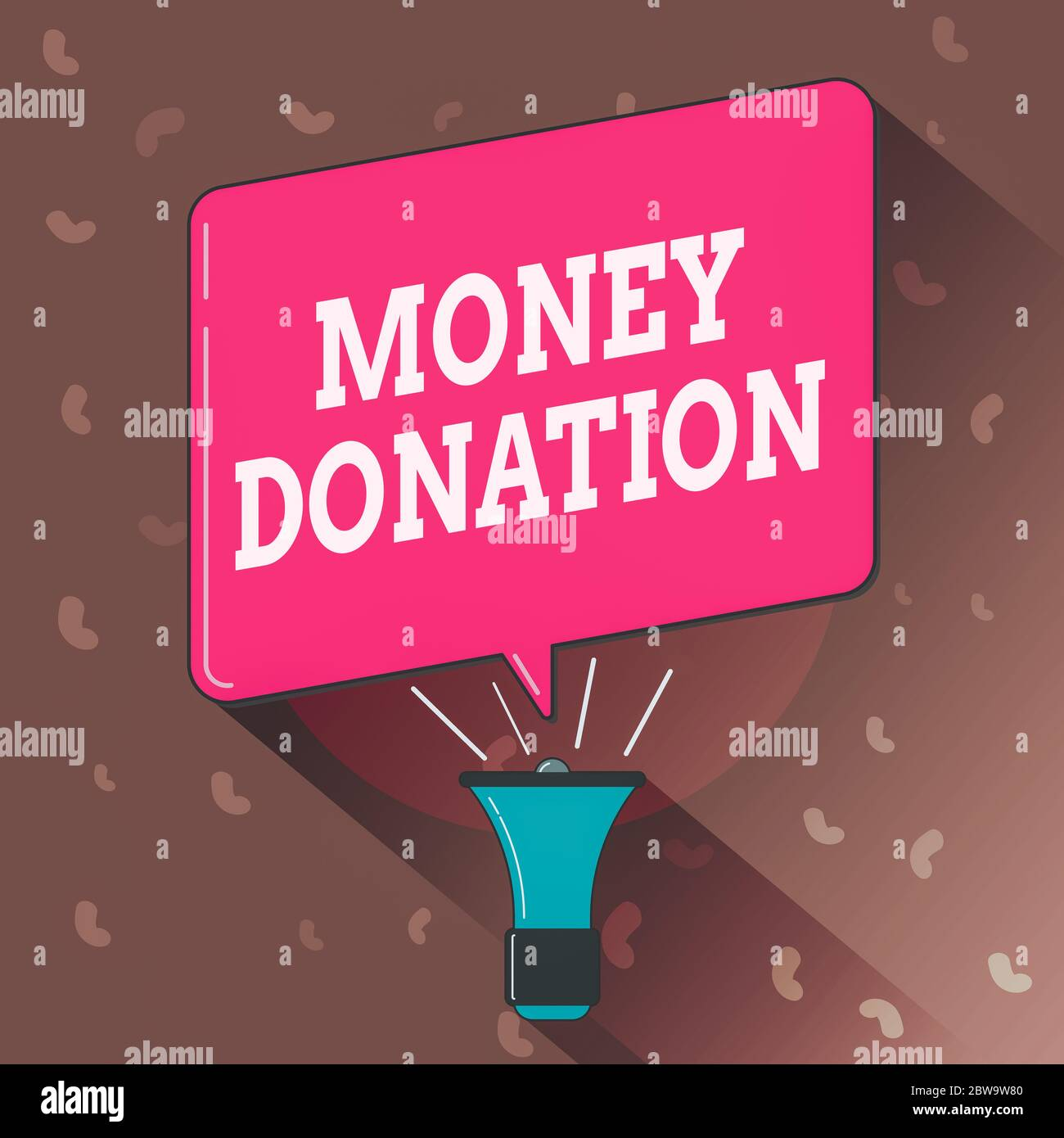 Conceptual Hand Writing Showing Money Donation Concept Meaning A Charity Aid In A Form Of Cash Offered To An Association Megaphone Louder Handheld Am Stock Photo Alamy