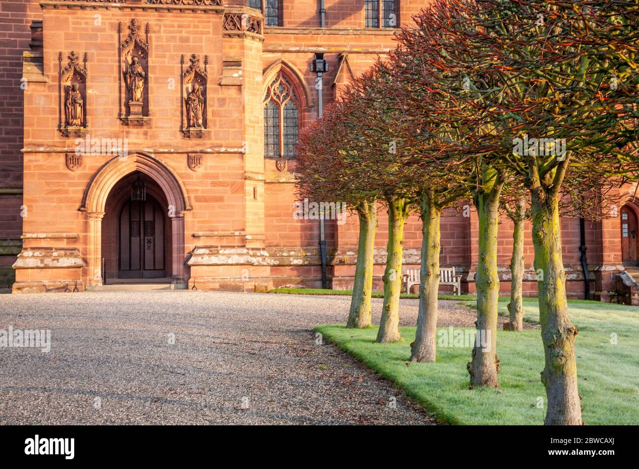 Eccleston parish church, Cheshire, England Stock Photo