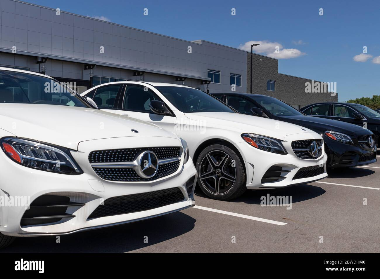 indianapolis circa may 2020 mercedes benz dealership mercedes benz is a global automobile manufacturer and a division of daimler ag stock photo alamy alamy