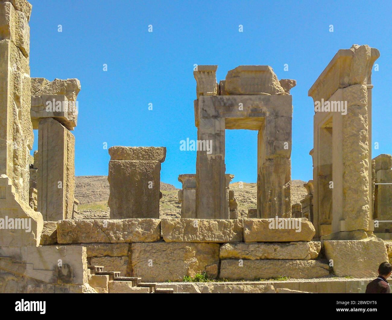 Shiraz Persepolis Iran Ruins Of The Ceremonial Capital Of The Persian Empire Achaemenid Empire Ancient City Persepolis One Of Unesco World Heri Stock Photo Alamy