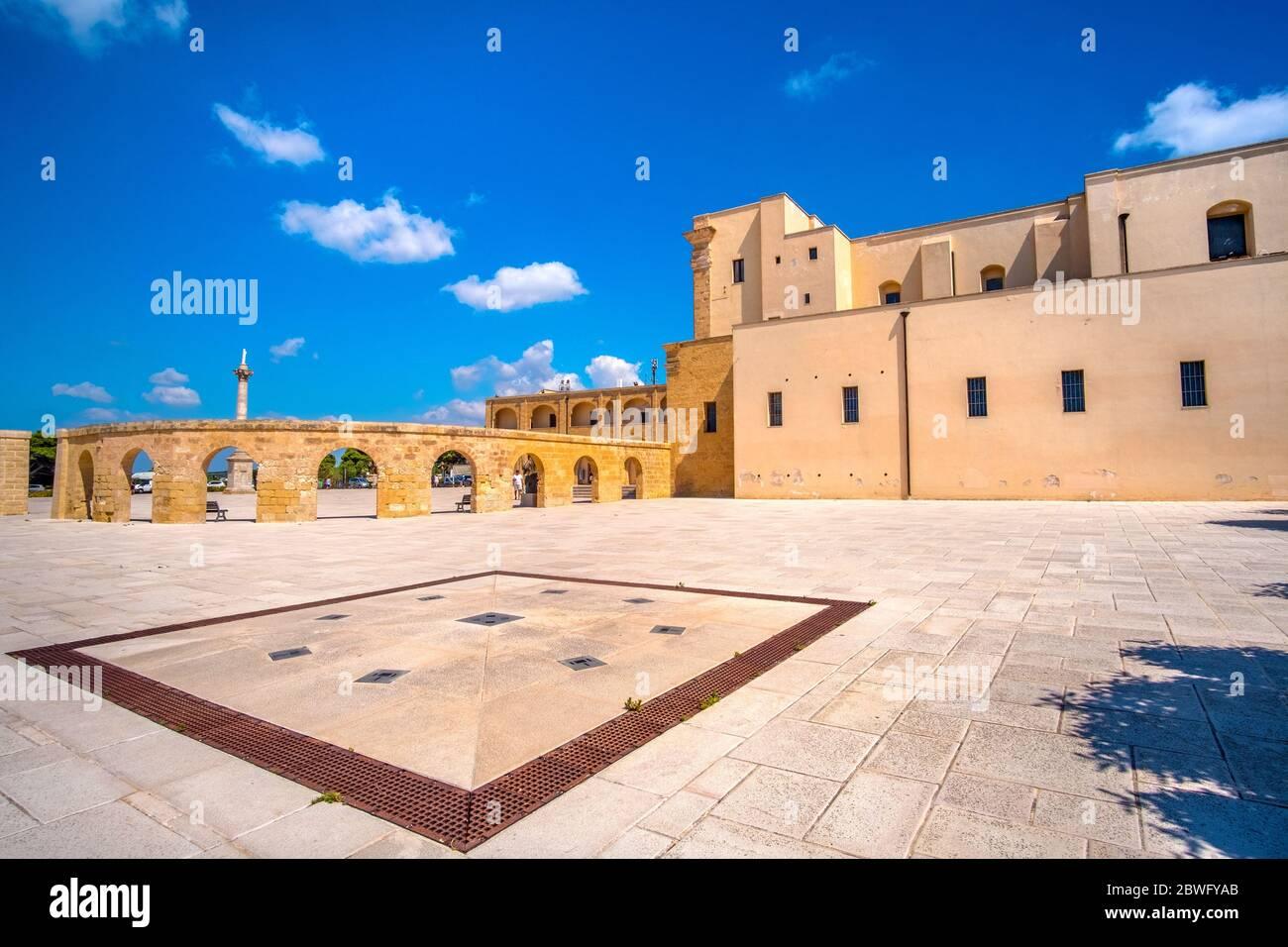 Leuca in Salento - Puglia region - Italy province of Lecce Stock Photo