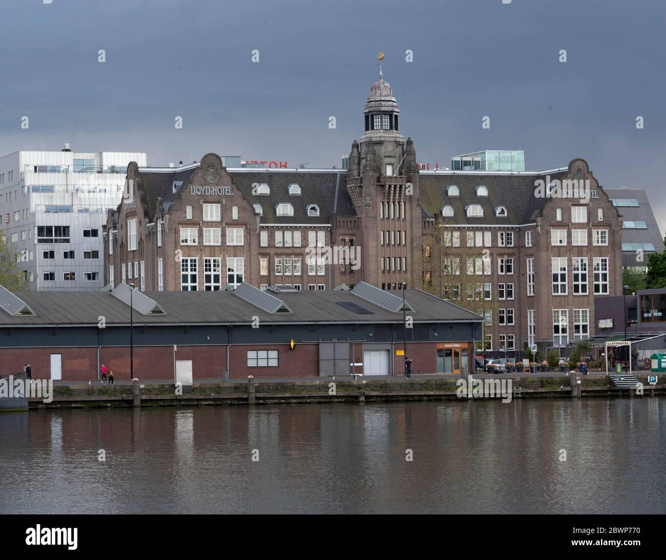 Llyod Hotel Amsterdam Stock Photo