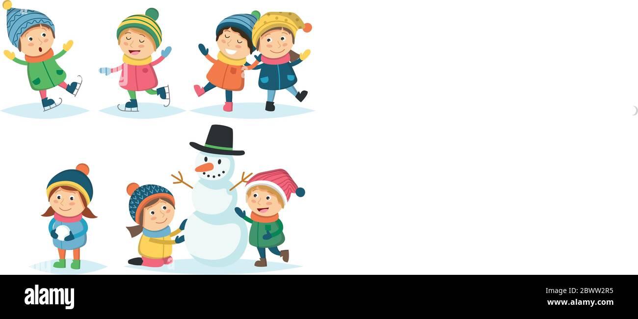 Children Winter Clipart, Transparent PNG Clipart Images Free Download -  ClipartMax