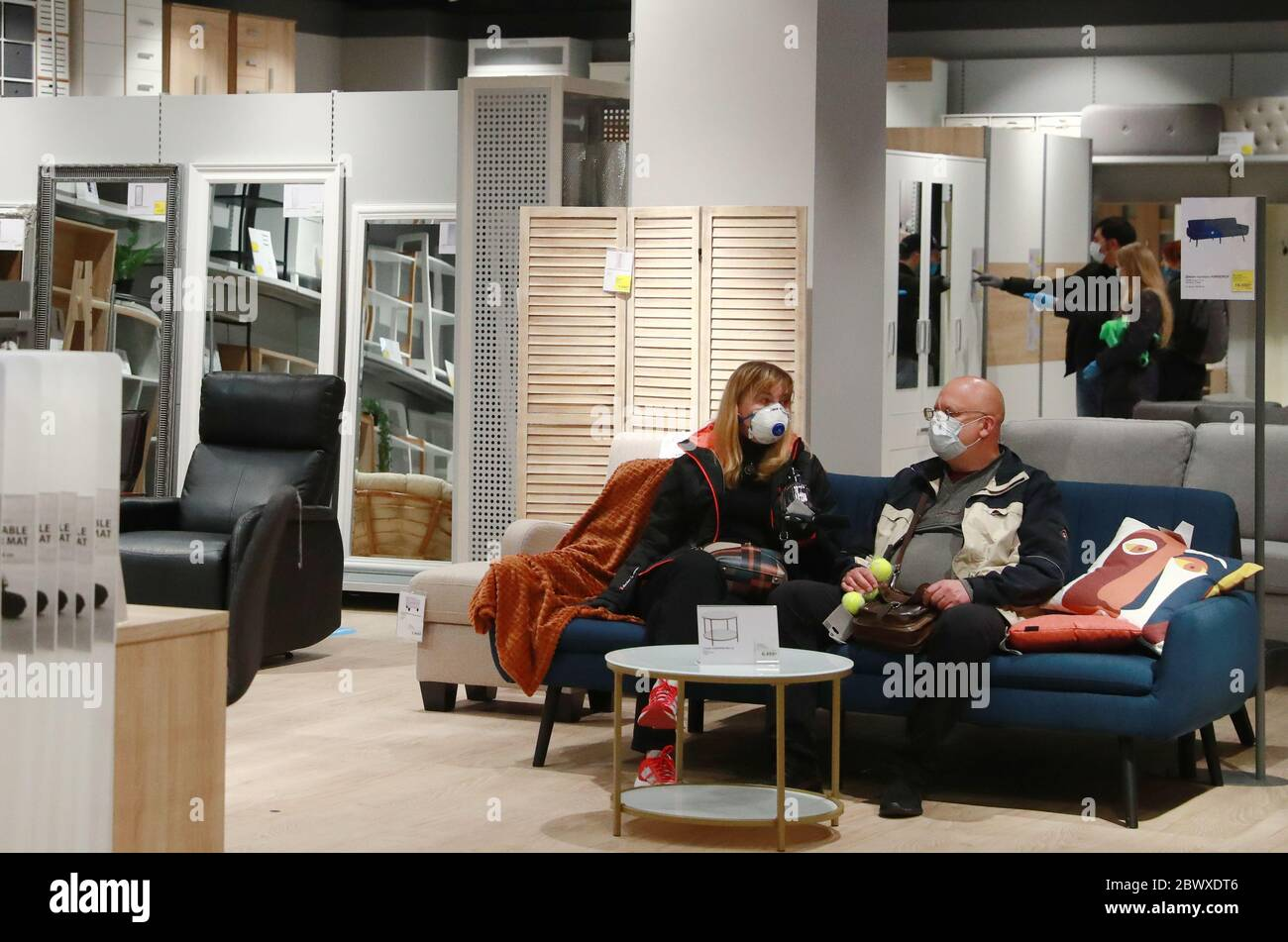 Moscow Russia 3rd June 2020 Customers Visit The First Household Goods Store Launched By The Danish Retail Chain Jysk At The Troika Shopping Centre Credit Sergei Fadeichev Tass Alamy Live News Stock Photo,Easy Gel Nail Designs Step By Step