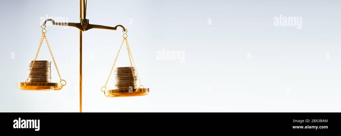 Balance Scale Money