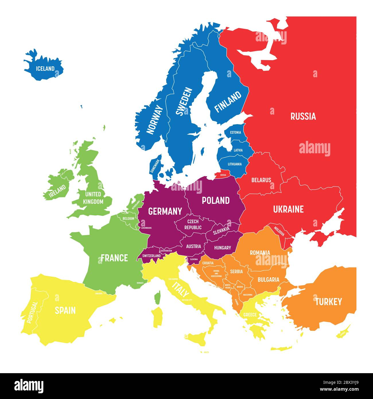 Picture of: South Eastern Europe Map High Resolution Stock Photography And Images Alamy