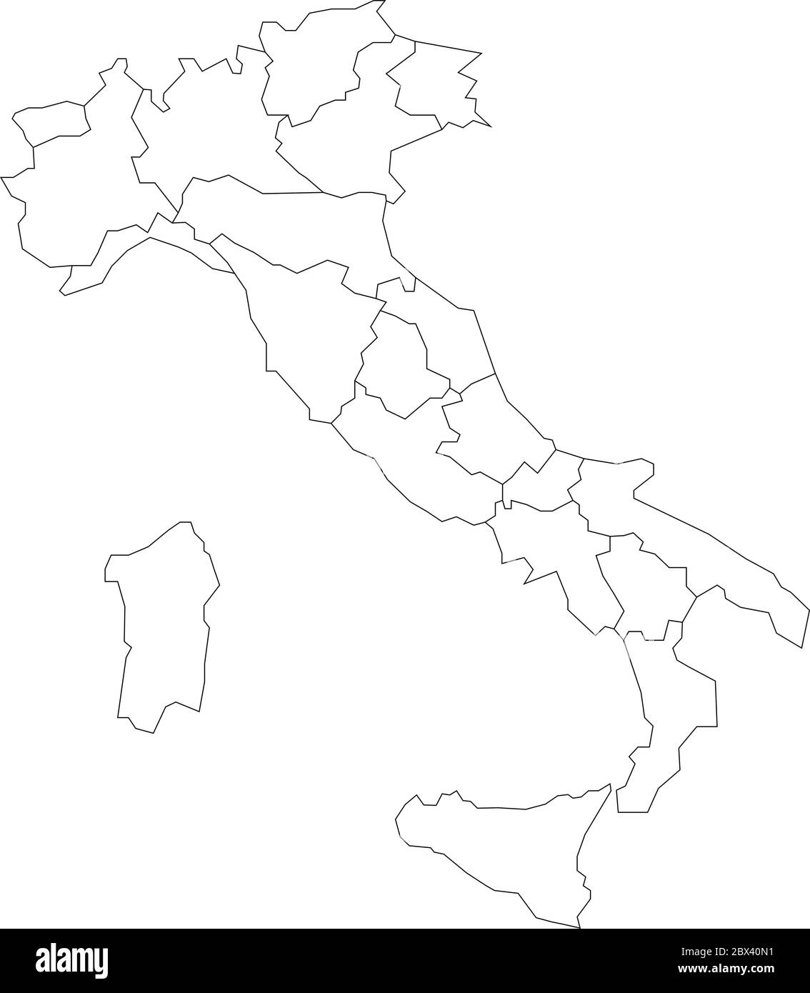 Picture of: Italy Map Black And White Stock Photos Images Alamy