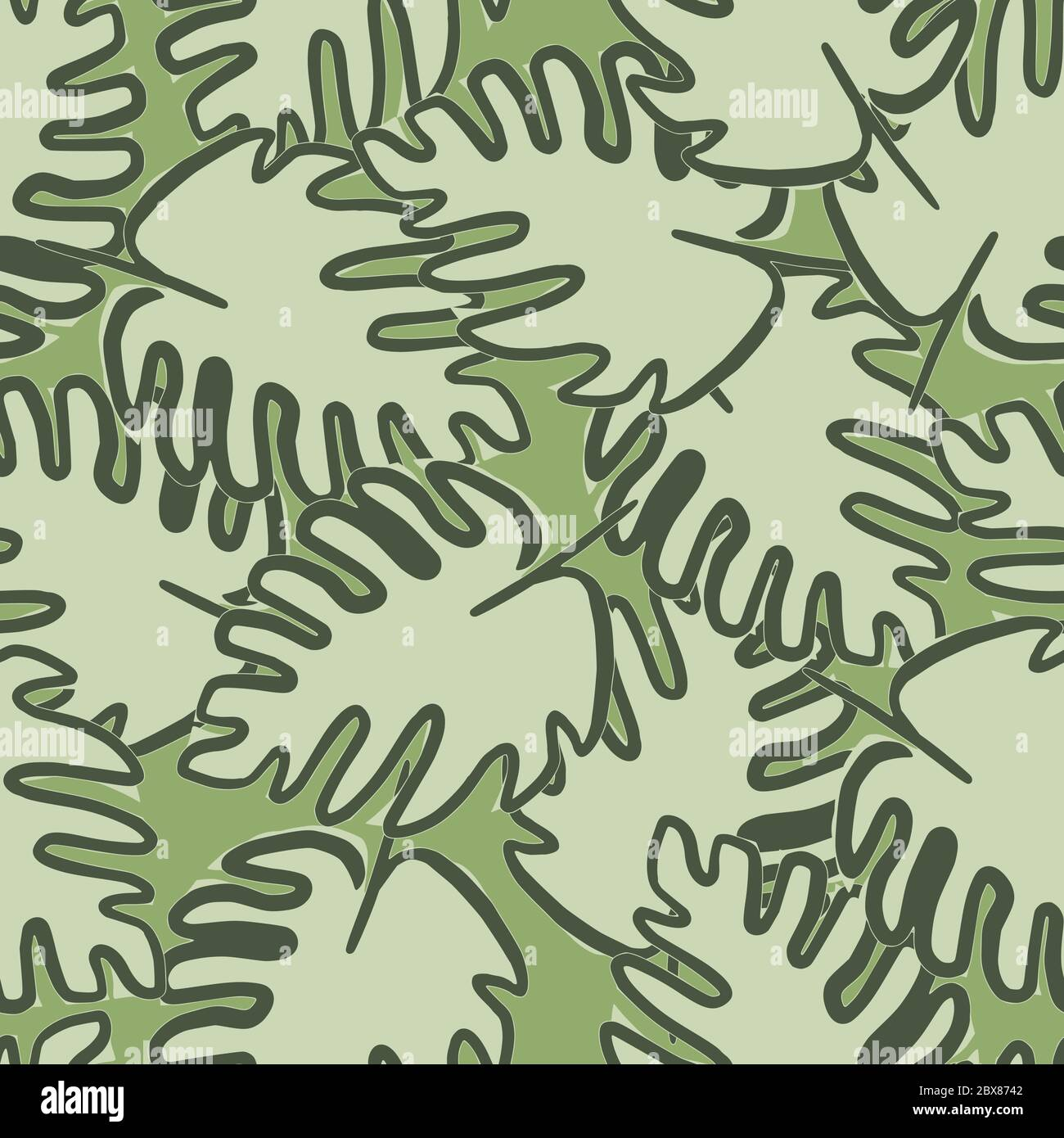 Outline Monstera Leaf Seamless Pattern On Green Background Tropical Leaves Vector Illustration Exotic Jungle Wallpaper Design For Fabric Textile P Stock Vector Image Art Alamy Can anyone help me out with this? alamy