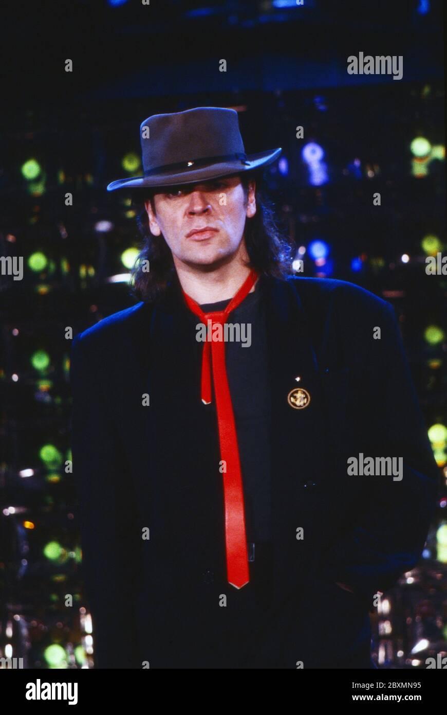 Die Spielbude, Unterhaltungsshow, Deutschland 1982 - 1989, Gaststar: Udo Lindenberg Stock Photo