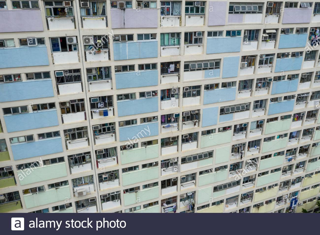 Choi Hung Hong Kong 17 May 2019 Top View Of Famous Public Estate In Hong Kong Choi Hung Estate Stock Photo Alamy