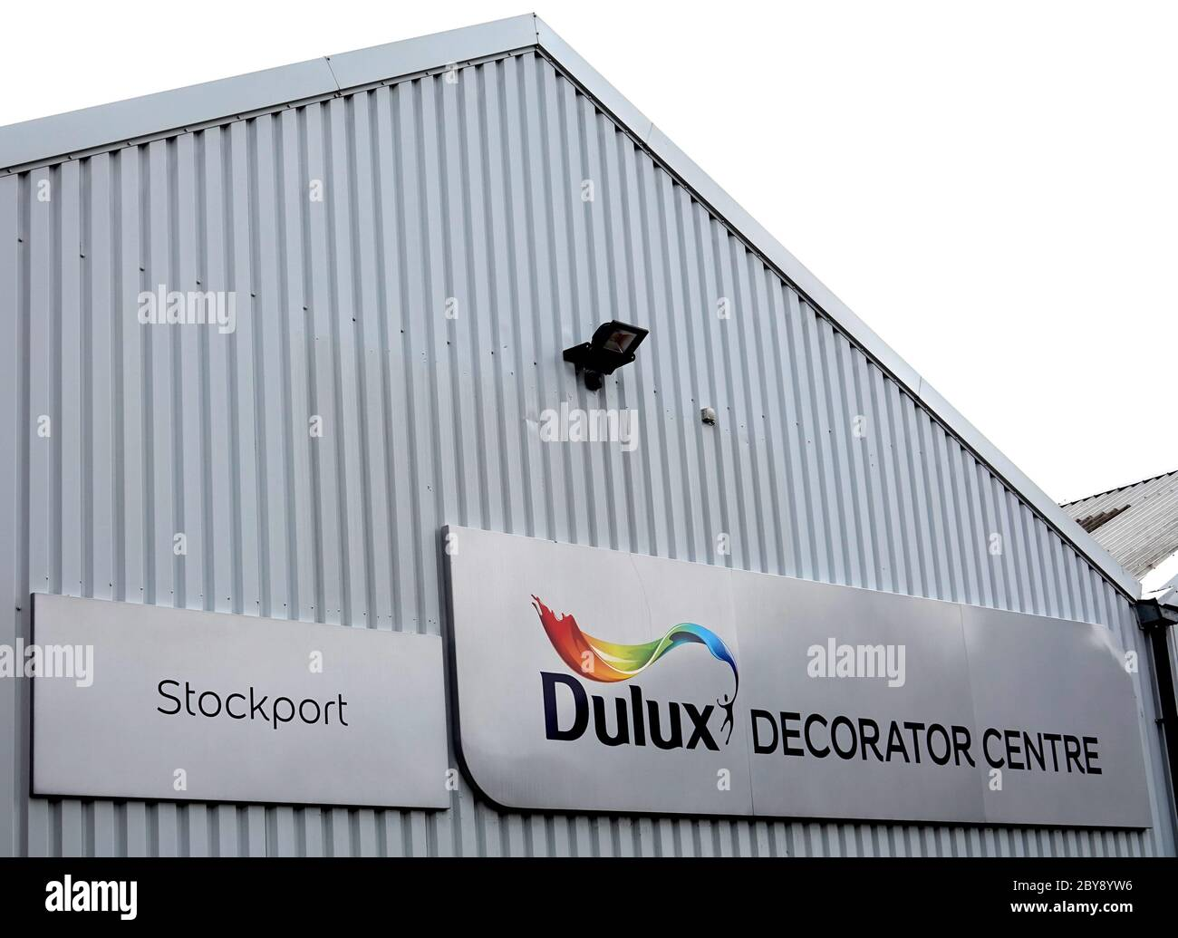 Dulux Decorator Centre in Stockport, Greater Manchester Stock Photo